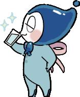 水のキャラクター「しずみぃ」